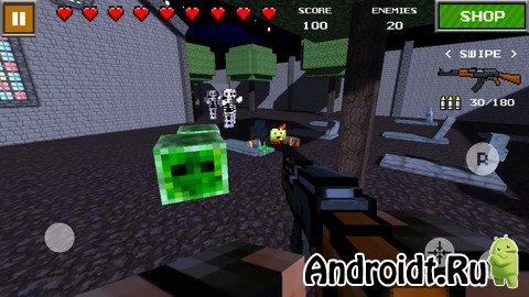 скачать pixel gun 3d взлом последняя версия с мультиплеером без кеша