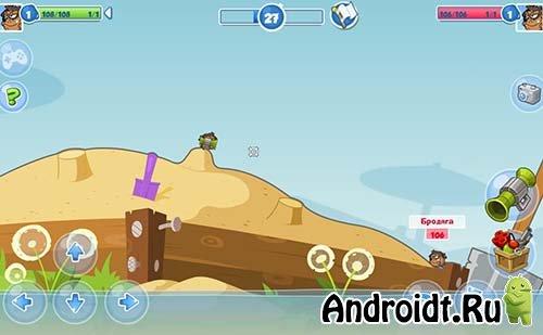 Вормикс взломанные игры на андроид андроид