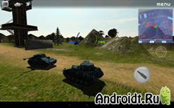Armored Aces - 3D Tanks Online на Андроид