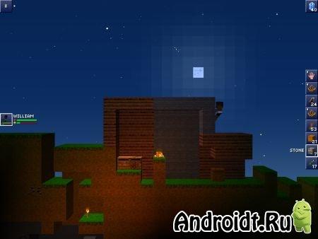 скачать на андроид игру The Blockheads - фото 5