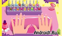 Glow Nails: Manicure Games на Android