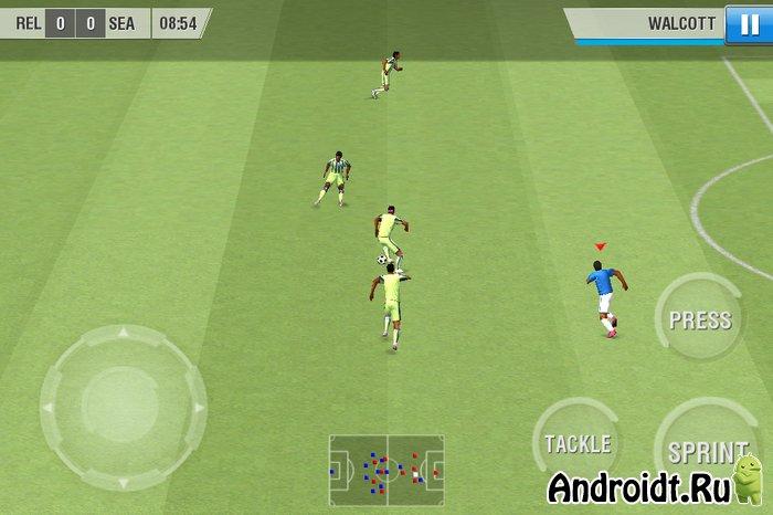 Кэш к игре real football 2012 папку из архива распаковать в sdcardandroidob