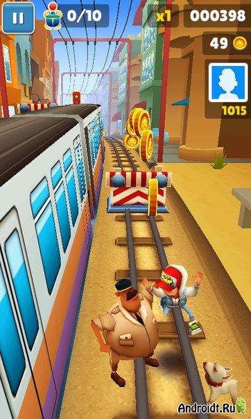 Скачать Обновление Игры Subway Surf На Андроид