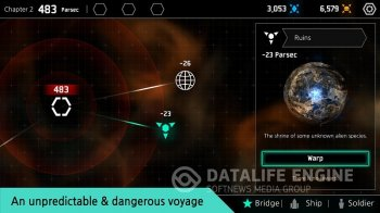 Star Chindy: SciFi Roguelike на Android - останови машины
