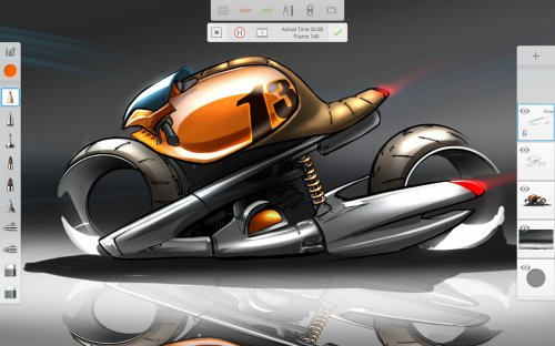 Autodesk SketchBook на андроид