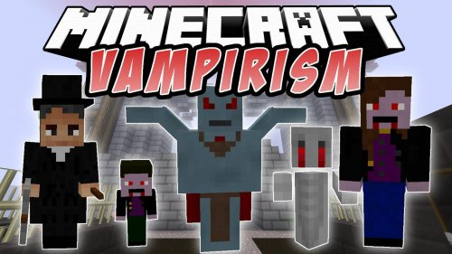 Мод на Вампиров для Майнкрафт